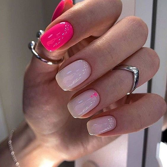 50 ideas for fashionable summer manicure photo # 19