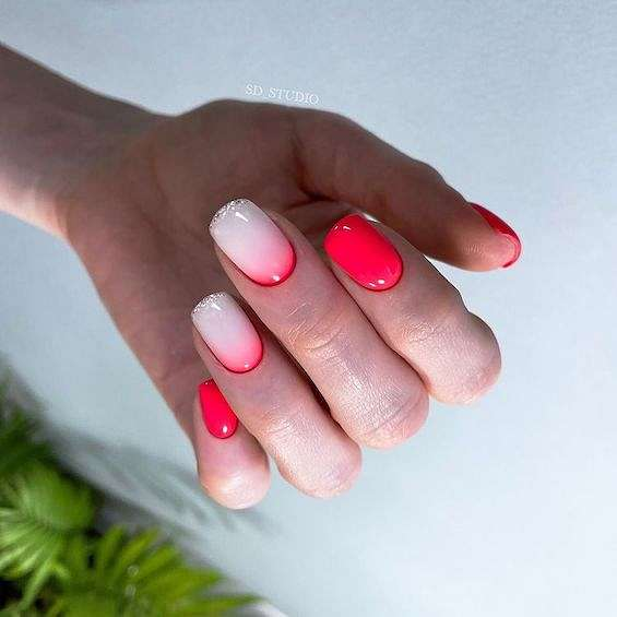 50 ideas for fashionable summer manicure photo # 16