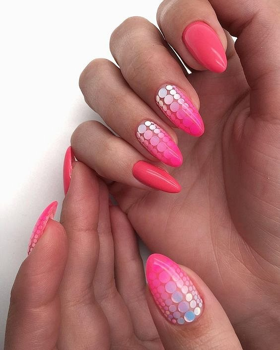 50 ideas for fashionable summer manicure photo # 14