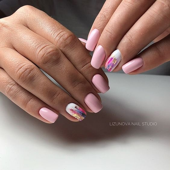 50 ideas for fashionable summer manicure photo # 27