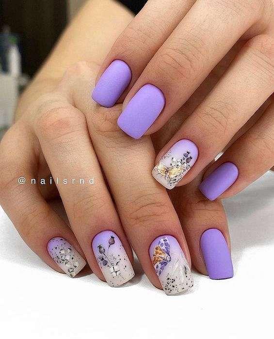 50 ideas of fashionable summer manicure photo # 22