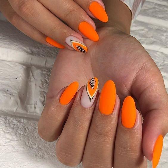 50 ideas of fashionable summer manicure photo # 26
