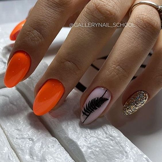 50 ideas for fashionable summer manicure photo # 28