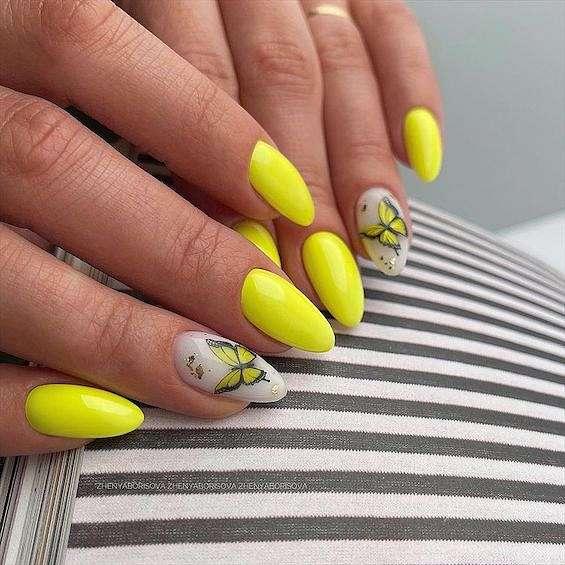 50 ideas of fashionable summer manicure photo # 24