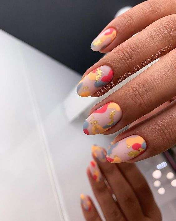 50 ideas of fashionable summer manicure photo # 21