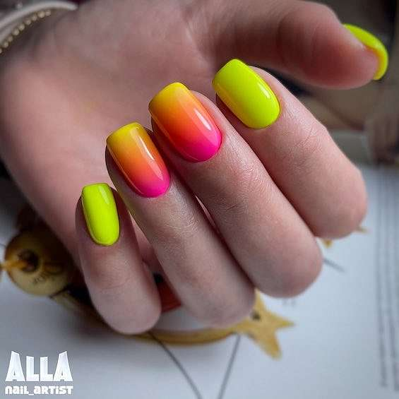 50 ideas for fashionable summer manicure photo # 36