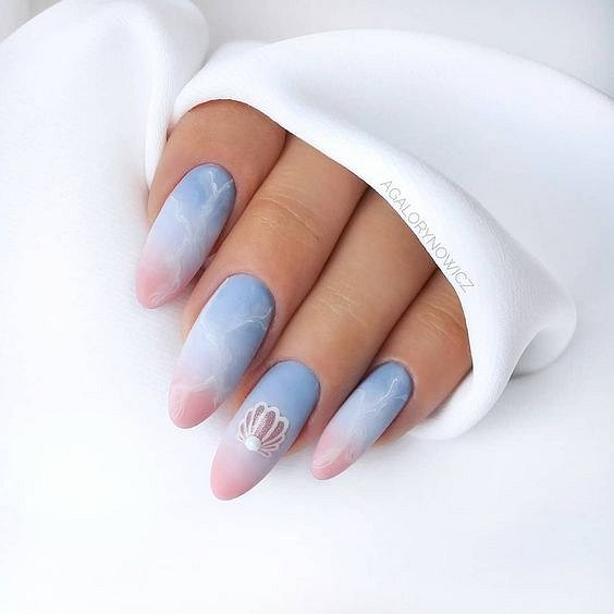 50 ideas for fashionable summer manicure photo # 29