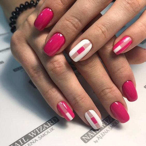 50 ideas for fashionable summer manicure photo # 32