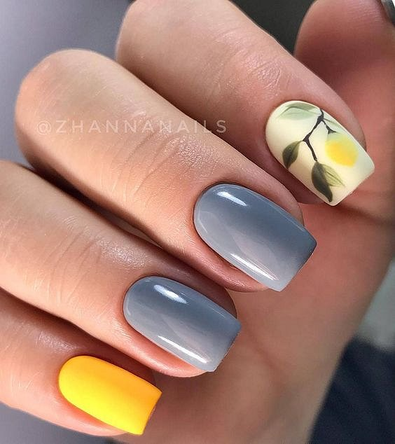50 ideas for fashionable summer manicure photo # 41