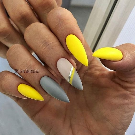 50 ideas for fashionable summer manicure photo # 38