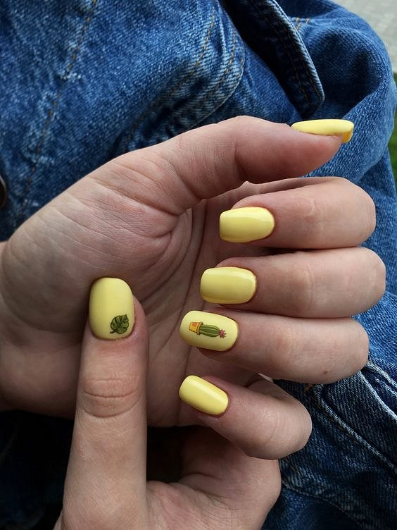 50 ideas for fashionable summer manicure photo # 44