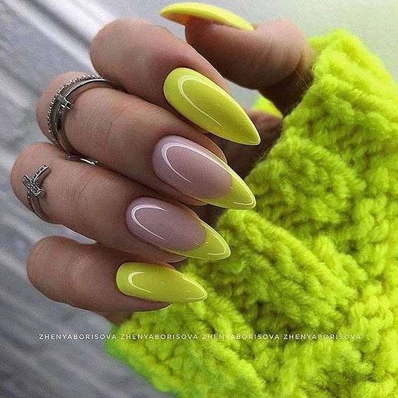 50 ideas for fashionable summer manicure photo # 43