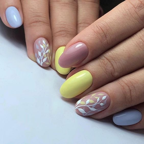 50 ideas for fashionable summer manicure photo # 39