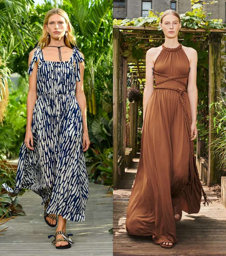 Summer sundresses and dresses - new items and trends photo # 7