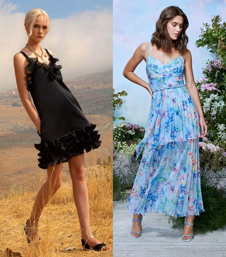Summer sundresses and dresses - new items and trends photo # 13