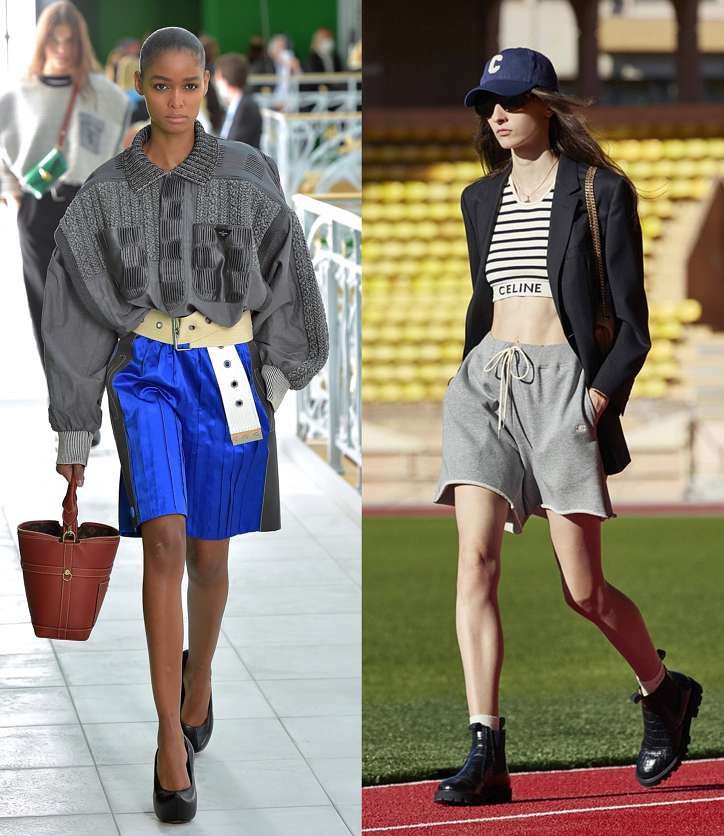 Fashionable shorts 2021: new items and trends photo # 2