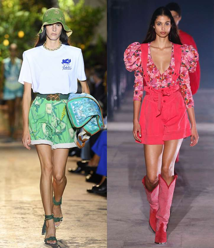 Fashionable shorts 2021: news and trends photo # 7