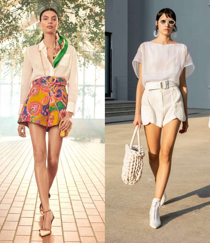 Fashionable shorts 2021: news and trends photo # 8