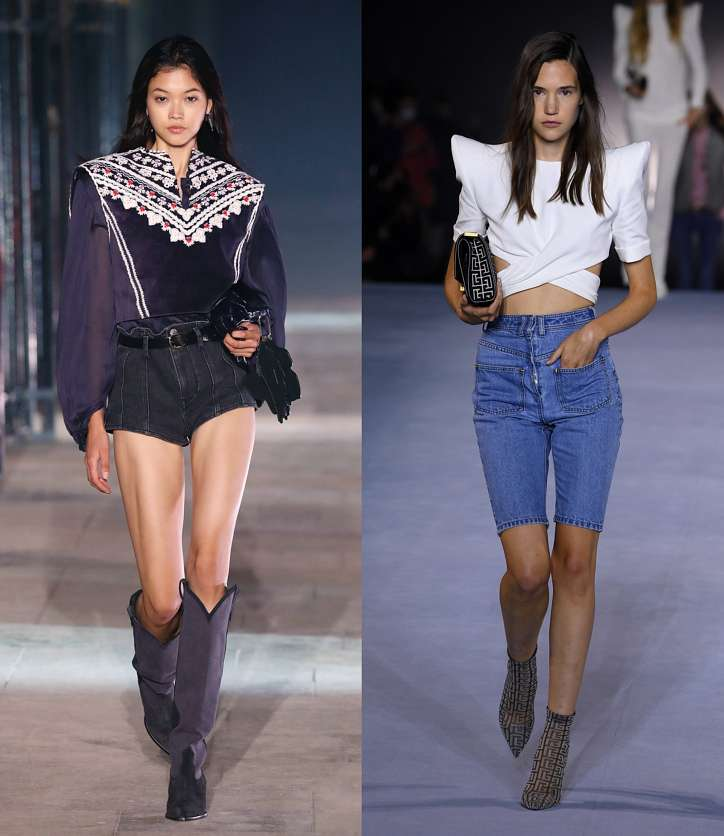 Fashionable shorts 2021: news and trends photo # 5