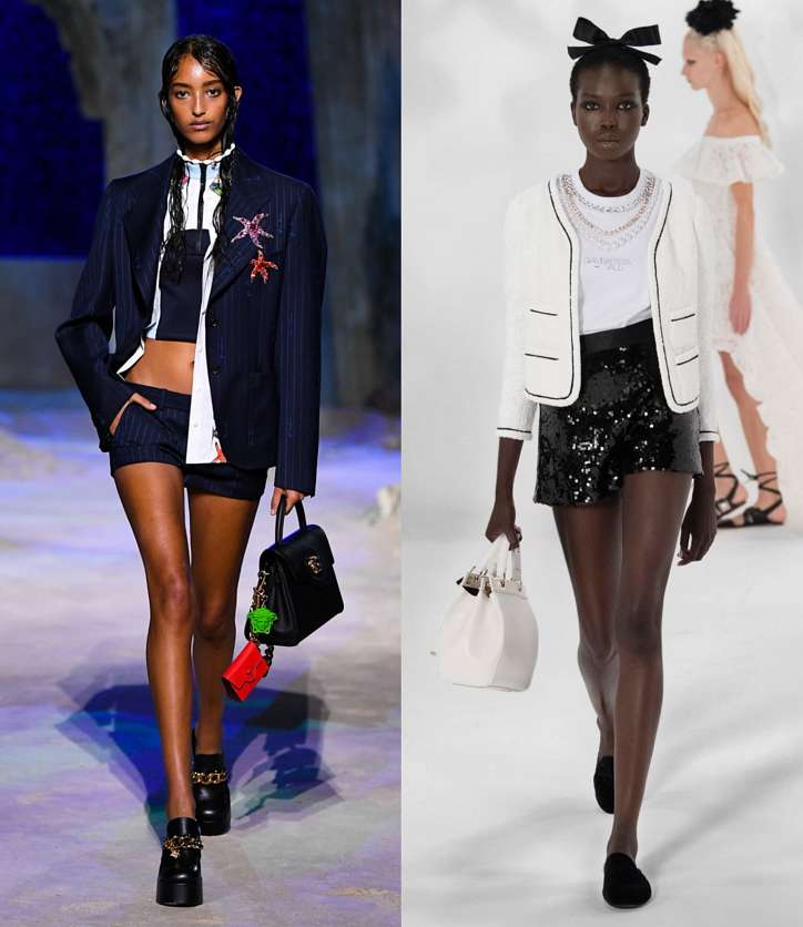 Fashionable shorts 2021: news and trends photo # 14
