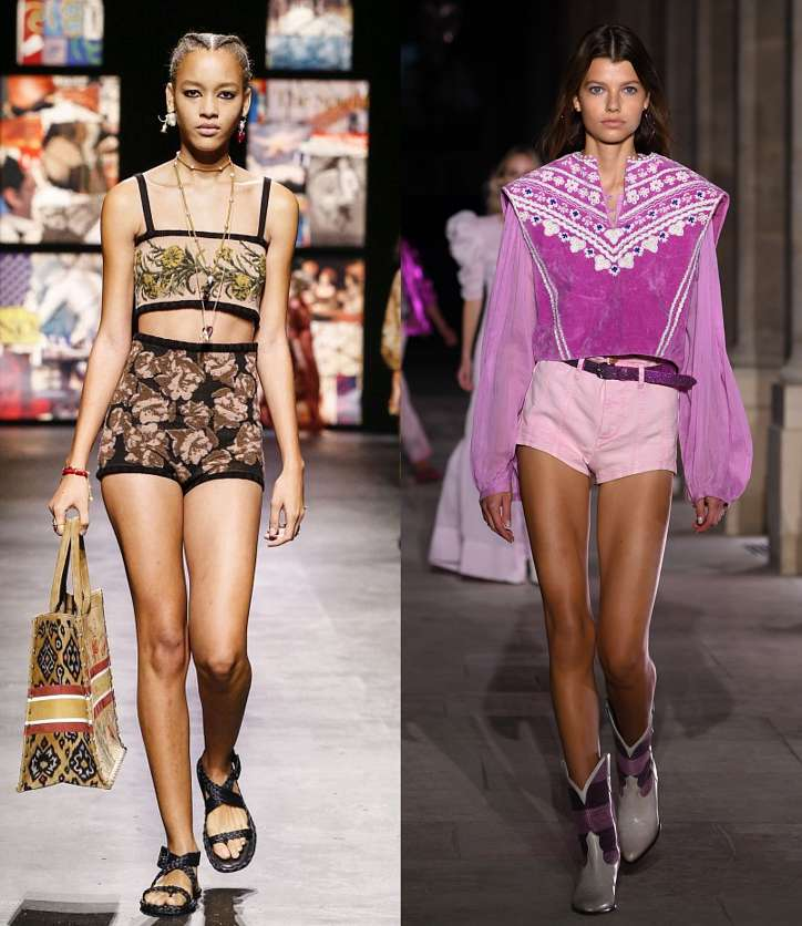 Fashionable shorts 2021: news and trends photo # 15