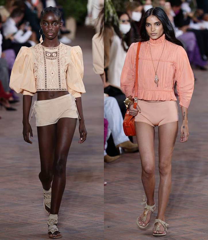 Fashionable shorts 2021: news and trends photo # 13