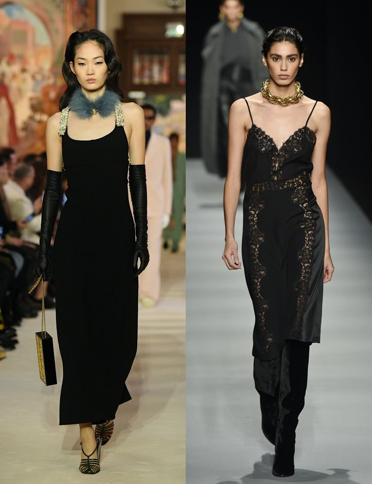 Slip dress.  What to wear with?  photo # 3