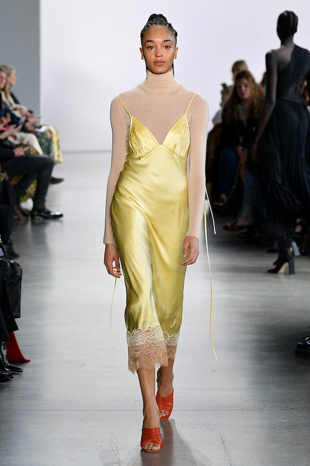 Slip dress.  What to wear with?  photo # 21