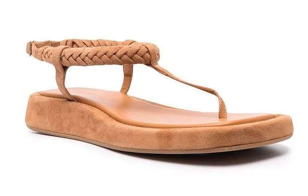 Fashionable summer flat-soled shoes photo # 4