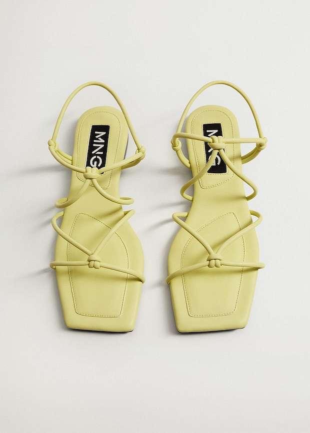 Fashionable summer flat-soled shoes photo # 5