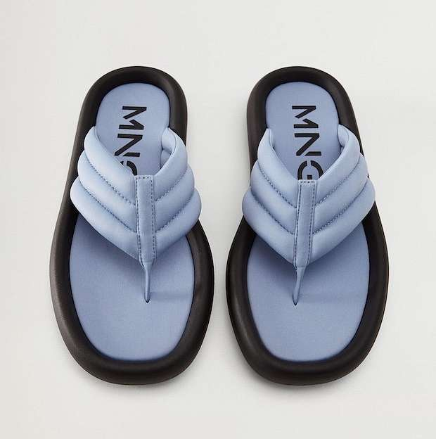 Fashionable summer flat-soled shoes photo # 2