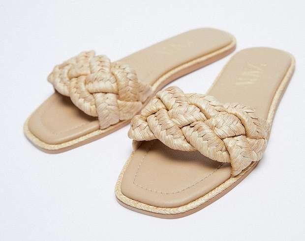 Fashionable summer flat-soled shoes photo # 11