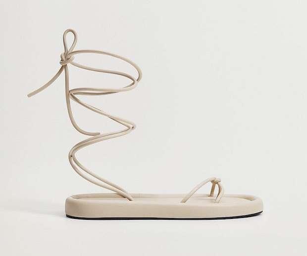 Fashionable summer flat-soled shoes photo # 10