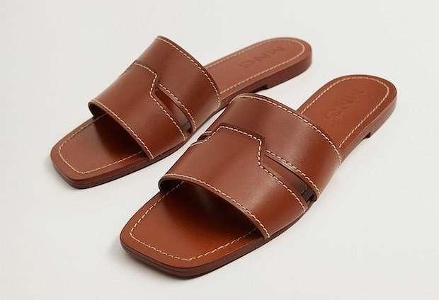 Fashionable summer flat-soled shoes photo # 8