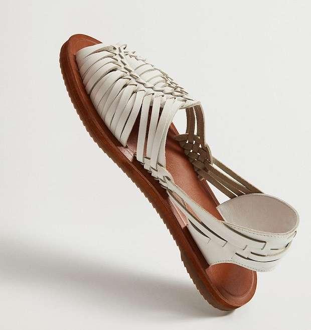 Fashionable summer flat-soled shoes photo # 12