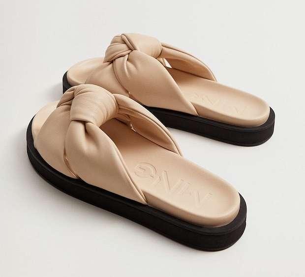 Fashionable summer flat-soled shoes photo # 14