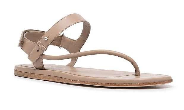 Fashionable summer flat-soled shoes photo # 15