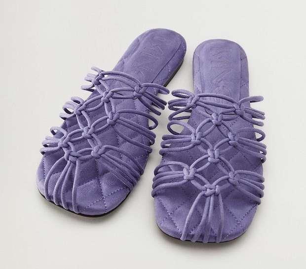 Fashionable summer flat-soled shoes photo # 16