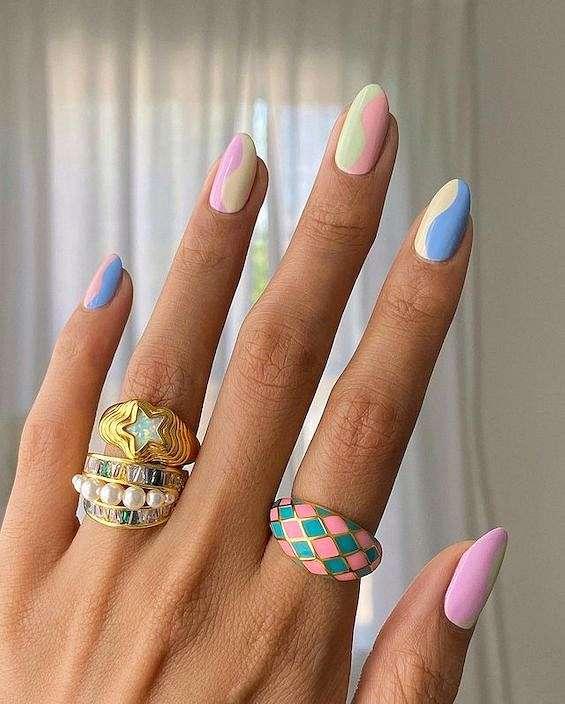 50 ideas of fashionable summer manicure photo # 1