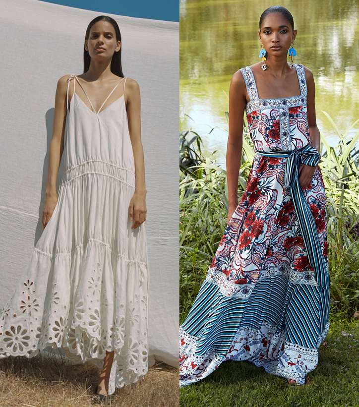 Summer sundresses and dresses - new items and trends photo # 1