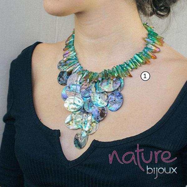 Stunning Haliotis Necklace from Nature Bijoux