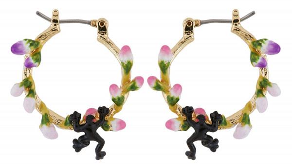 Earrings from the collection