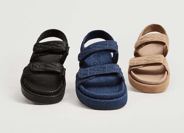 Fashionable summer flat-soled shoes photo # 1