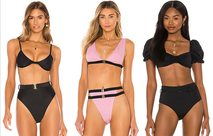 If the waist is your pride - pay attention to the models with these perky belts