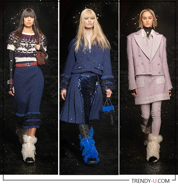 Chanel Fall Winter 2021 Fur Boots