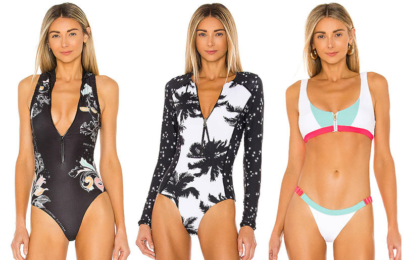A sports swimsuit is not only practical, but also very stylish.