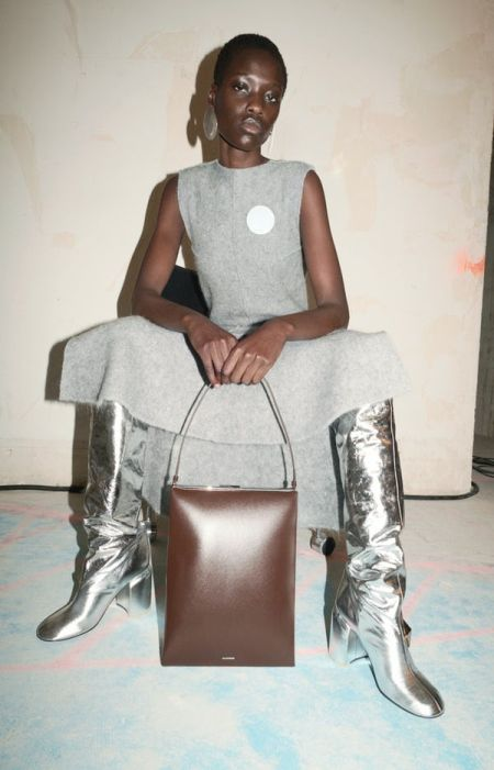 Fall 2021 Trend Shoes - Silver Boots
