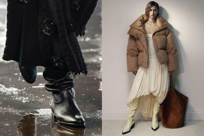 Fashion boots 2021 - with an accordion shaft