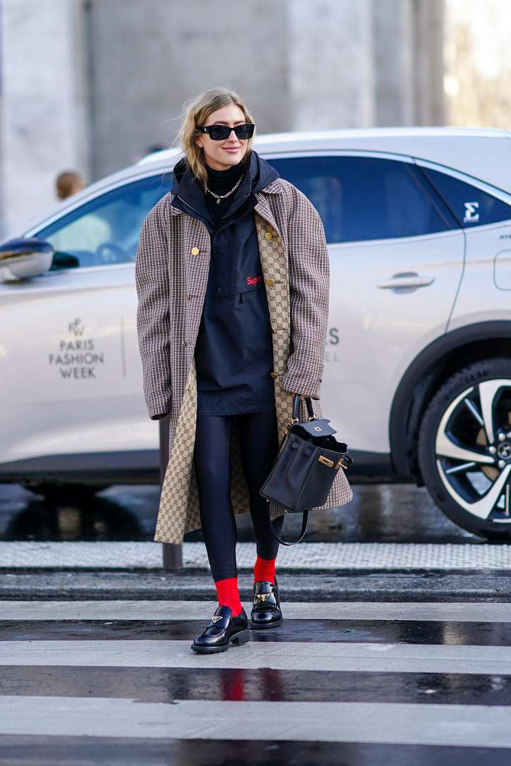 Sport-chic style: ideas of fashionable images photo # 3