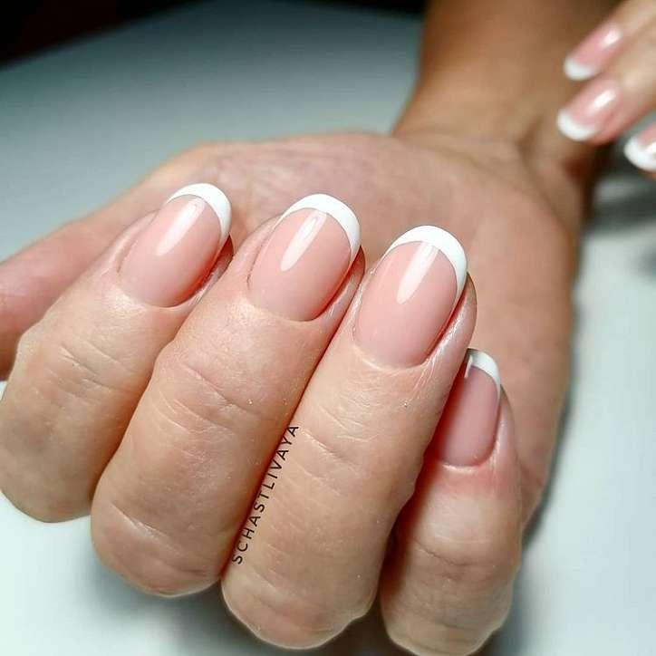 French manicure photo # 2